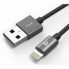 CABLE USB RENFORCE RECHARGE 1m