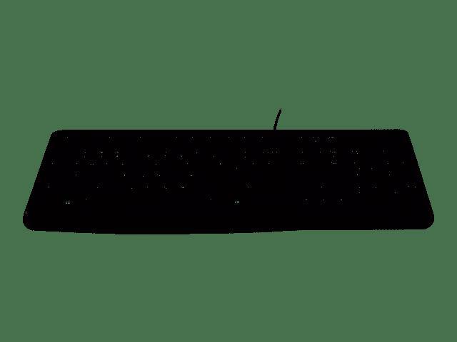 LOGITECH  Clavier MK120 - AZERTY  Avec  Fil